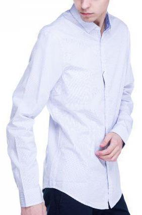 Рубашка с длинным рукавом для мужчин Armani Exchange WH642 цена, 2017