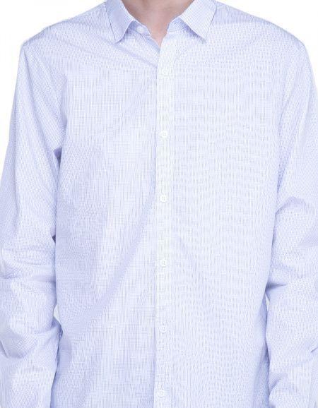 Рубашка с длинным рукавом для мужчин Armani Exchange WH642 фото, купить, 2017