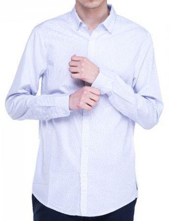 Рубашка с длинным рукавом для мужчин Armani Exchange WH642 бесплатная доставка, 2017