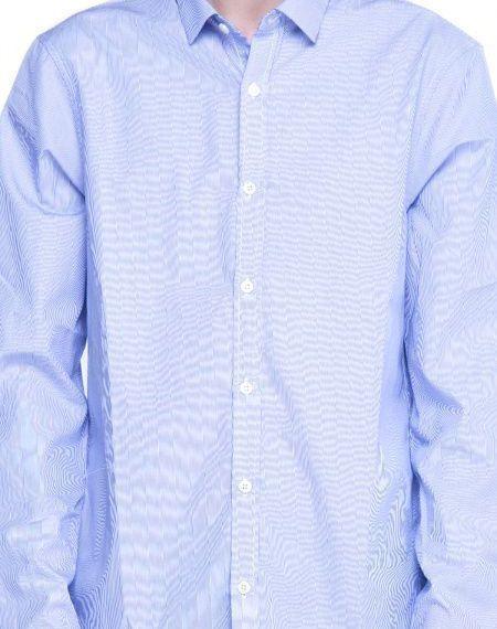 Рубашка с длинным рукавом для мужчин Armani Exchange WH643 фото, купить, 2017