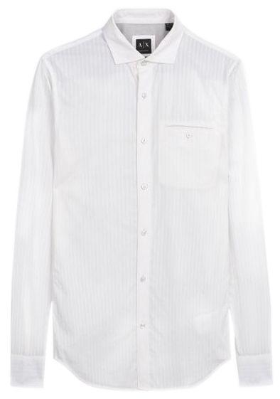 Рубашка с длинным рукавом для мужчин Armani Exchange WH760 бесплатная доставка, 2017