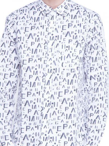 Рубашка с длинным рукавом для мужчин Armani Exchange WH764 фото, купить, 2017