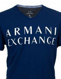 Футболка мужские Armani Exchange модель WH831 , 2017