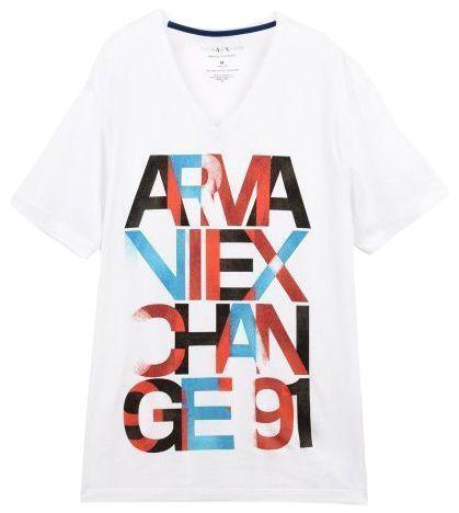 Футболка для мужчин Armani Exchange WH833 размерная сетка одежды, 2017