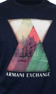 Футболка мужские Armani Exchange модель WH863 , 2017