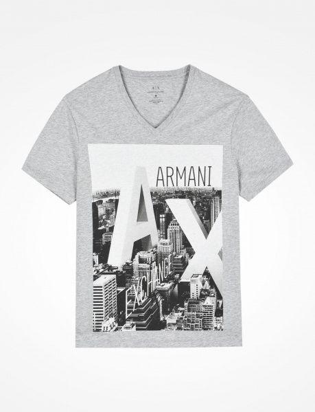 Футболка мужские Armani Exchange WH865 цена одежды, 2017