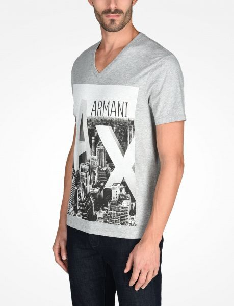 Футболка мужские Armani Exchange WH865 размерная сетка одежды, 2017