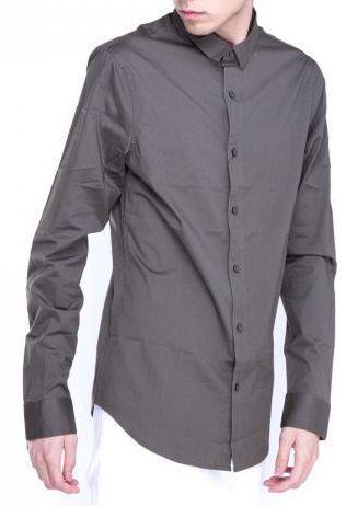 Рубашка с длинным рукавом для мужчин Armani Exchange WH916 цена, 2017