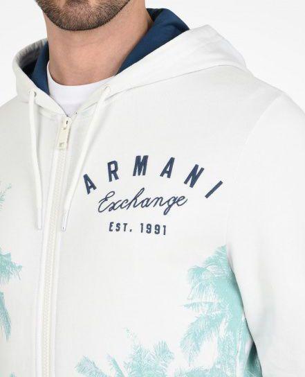 Свитер для мужчин Armani Exchange WH966 примерка, 2017