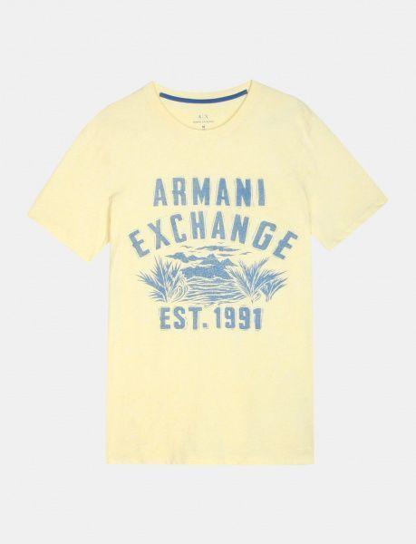 Футболка для мужчин Armani Exchange WH993 примерка, 2017