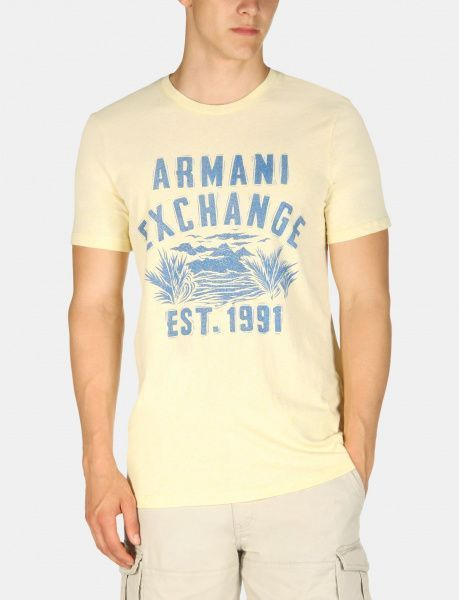 Футболка для мужчин Armani Exchange WH993 размерная сетка одежды, 2017