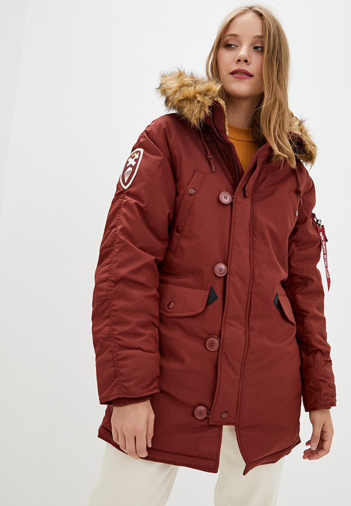 Alpha Industries Куртка жіночі модель WJA44503C1_red придбати, 2017