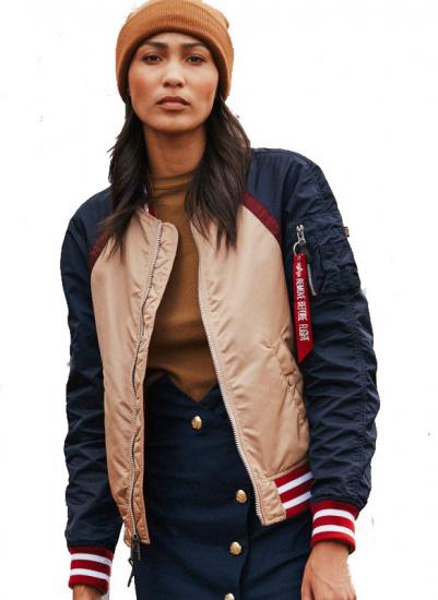 Легка куртка Alpha Industries модель WJL48500C1_rose_gold — фото - INTERTOP