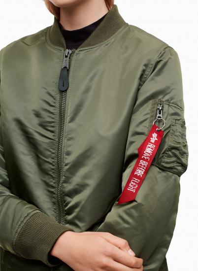 Alpha Industries Куртка жіночі модель WJM47503C1_sage придбати, 2017