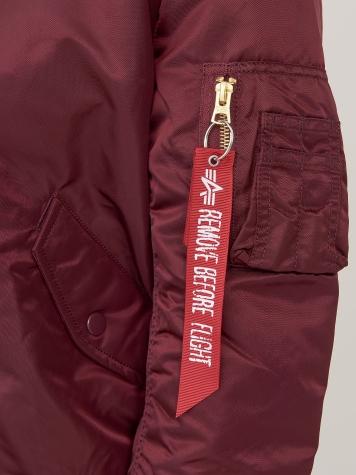 Куртка женские Alpha Industries модель WJM47505C1_maroon купить, 2017