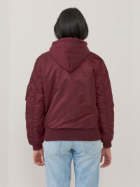 Куртка женские Alpha Industries модель WJM47505C1_maroon , 2017
