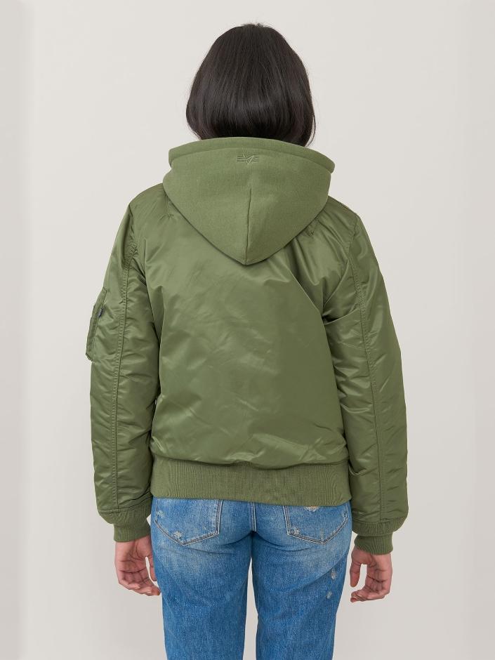 Куртка женские Alpha Industries модель WJM47505C1_sage приобрести, 2017