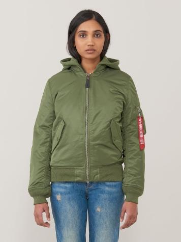 Куртка женские Alpha Industries модель WJM47505C1_sage , 2017