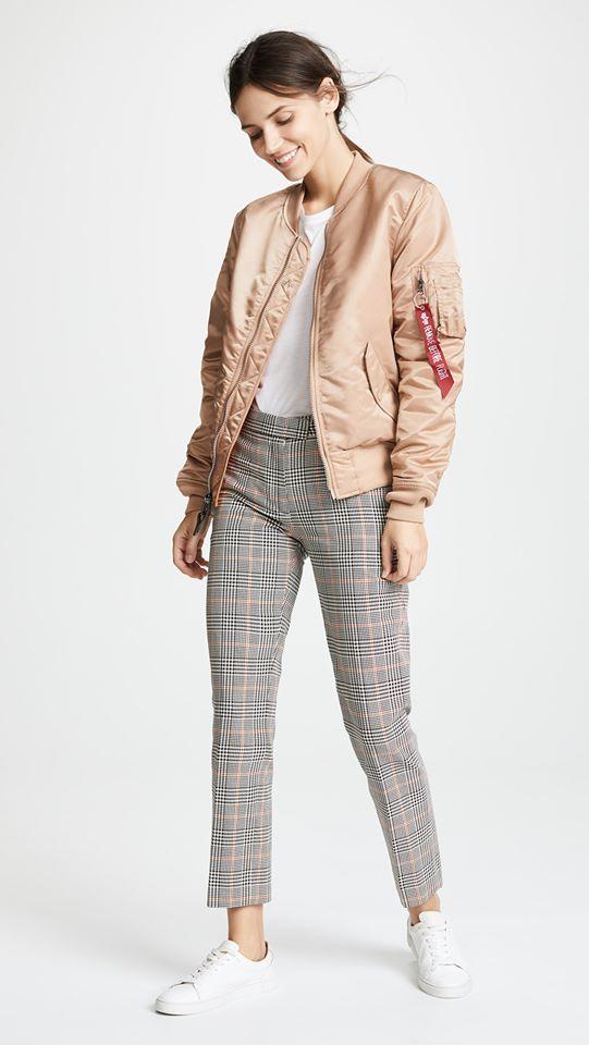 Куртка женские Alpha Industries модель WJM48502C1_Rose_gold приобрести, 2017