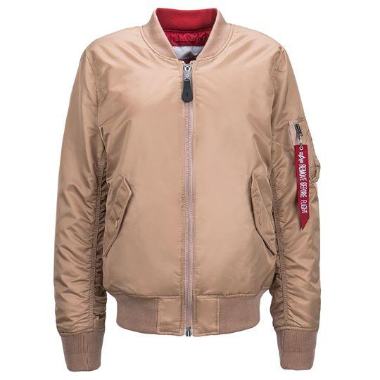 Куртка женские Alpha Industries модель WJM48502C1_Rose_gold цена, 2017