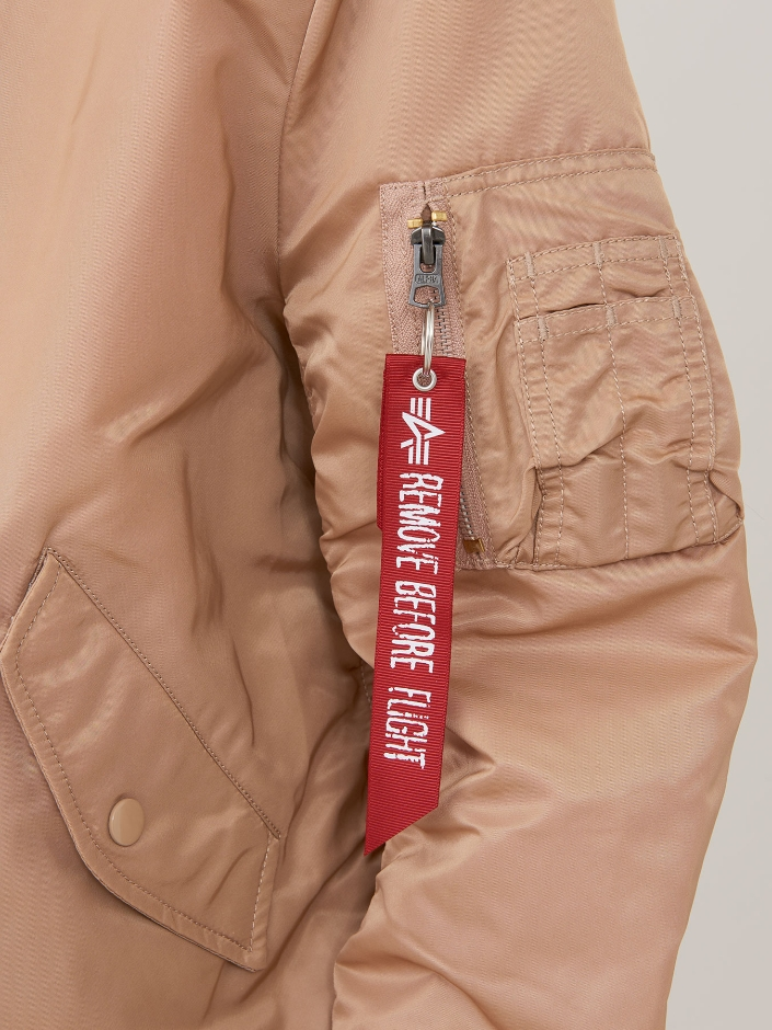 Куртка женские Alpha Industries модель WJM48502C1_Rose_gold характеристики, 2017