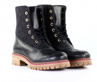 Ботинки женские NOBRAND Signal 12044-BLACK купить обувь, 2017