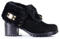 Ботинки женские NOBRAND Winglet 12038-BLACK Заказать, 2017