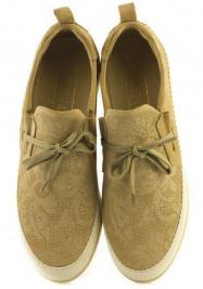 Слипоны для женщин NOBRAND 12969 NB/BEGE размеры обуви, 2017