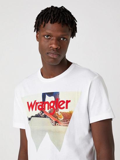 Футболка Wrangler модель W7G7D3XW1 — фото 4 - INTERTOP