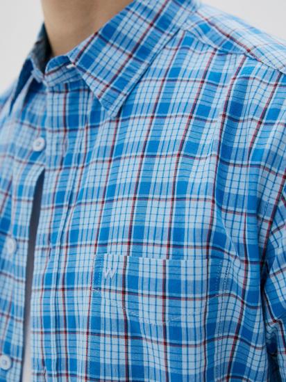 Сорочка з коротким рукавом Wrangler модель W5J11OXVT — фото 4 - INTERTOP