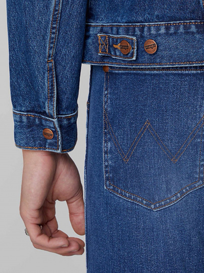 Джинсова куртка Wrangler ICONS модель W4MJUG923 — фото 6 - INTERTOP