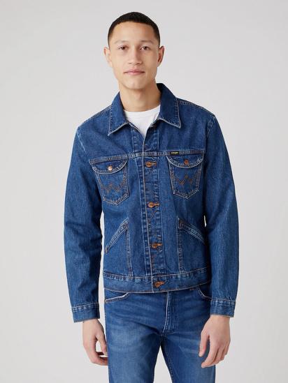 Джинсова куртка Wrangler ICONS модель W4MJUG923 — фото - INTERTOP