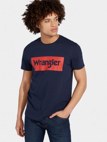 Футболка Wrangler модель W742FK114 — фото - INTERTOP