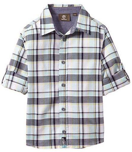 Timberland Kids Рубашка с коротким рукавом детские модель WT431 отзывы, 2017