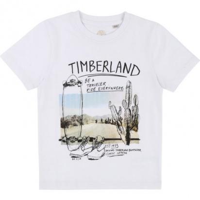Футболка Timberland Kids модель T25M67/10B — фото - INTERTOP