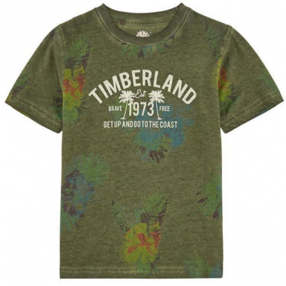Футболка Timberland Kids модель T25M69/688 — фото - INTERTOP