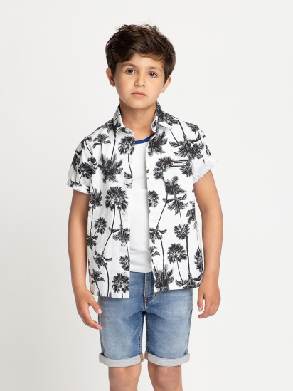 Сорочка з коротким рукавом Timberland Kids модель T25Q89/Z40 — фото - INTERTOP