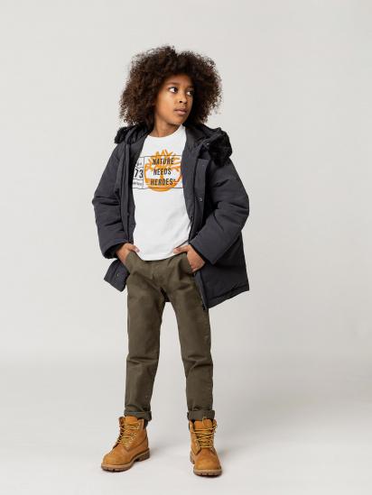 Парка Timberland Kids модель T26525/082 — фото 3 - INTERTOP