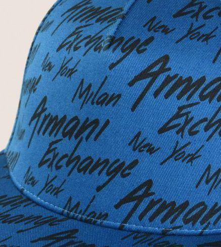 Кепка для мужчин Armani Exchange MAN BASEBALL HAT WU471 купить, 2017
