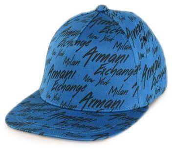 Кепка для мужчин Armani Exchange MAN BASEBALL HAT WU471 примерка, 2017