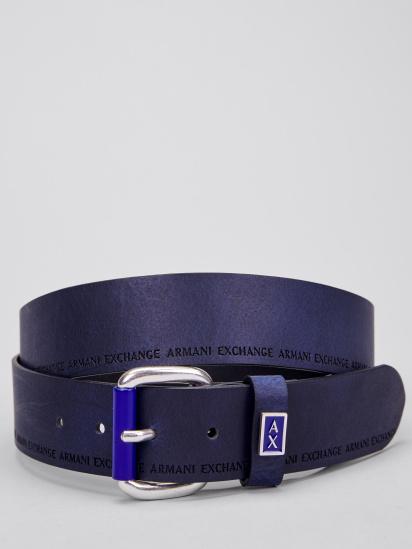 Ремінь Armani Exchange - фото