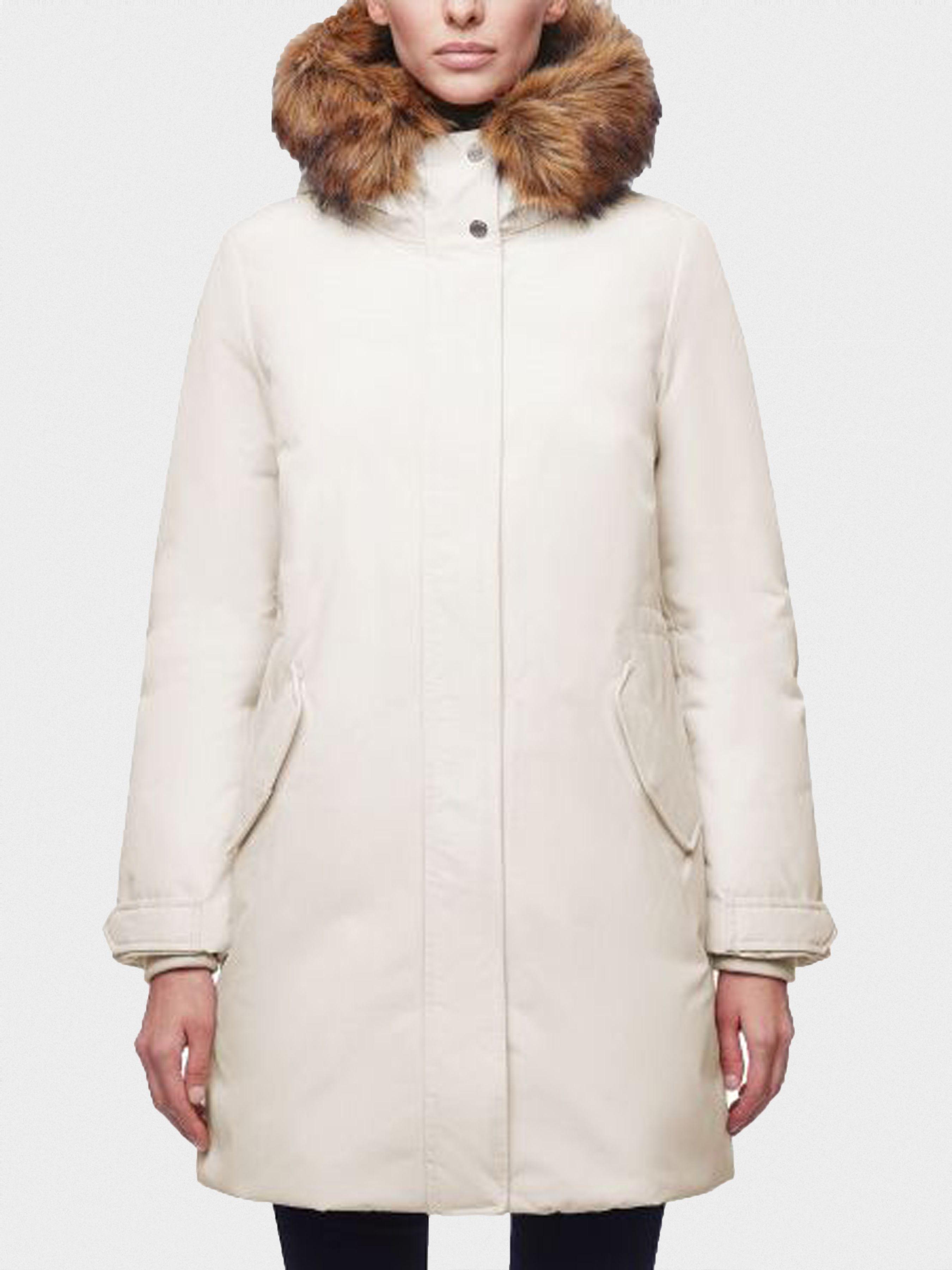 Купить Пальто женские модель XA5971, Geox, Белый
