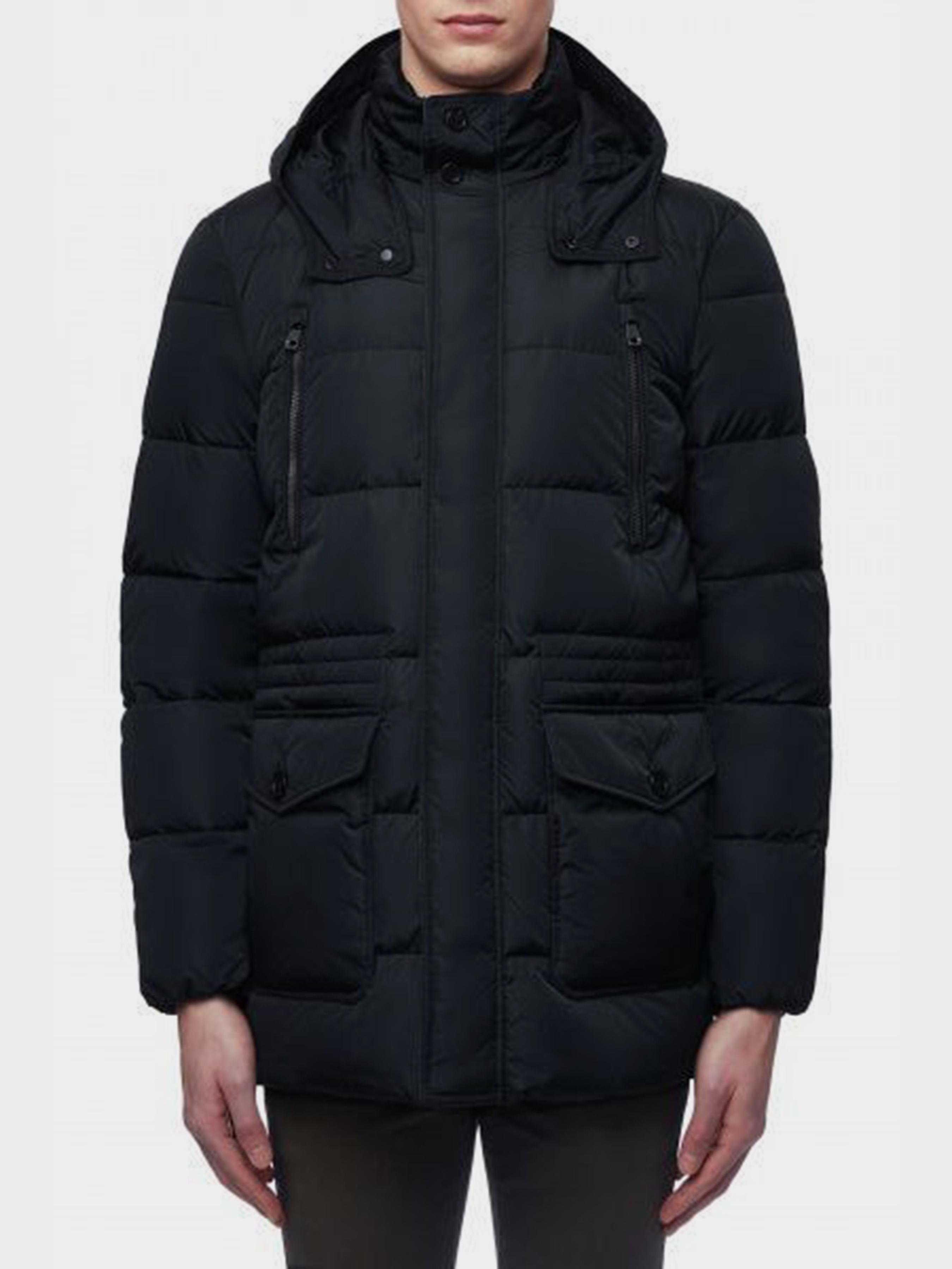 Купить Пальто пуховое мужские модель XA5983, Geox, Синий