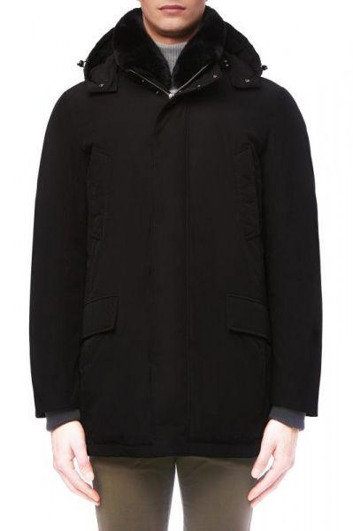 Купить Пальто мужские модель XA5989, Geox, Черный