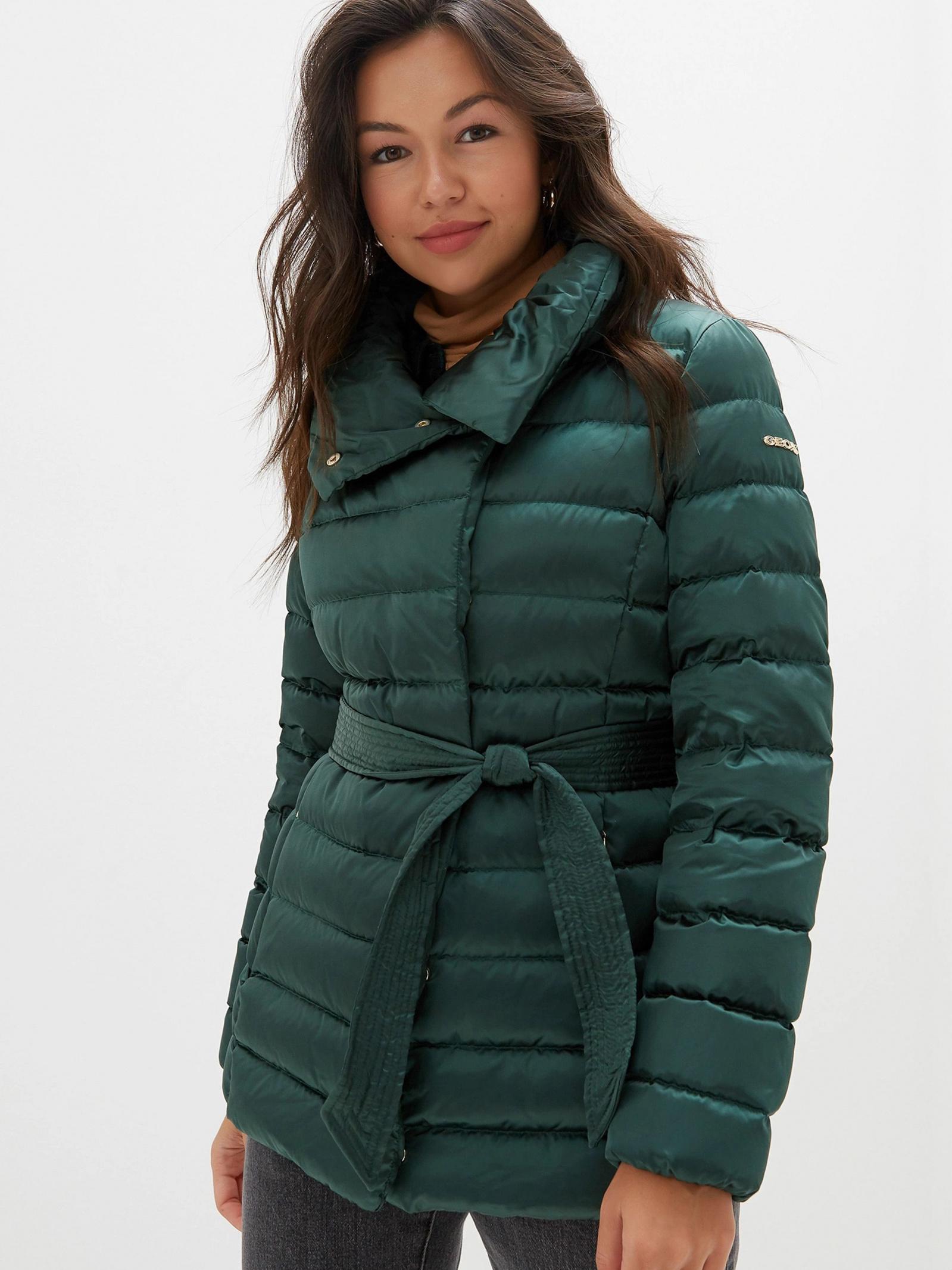 col china Itaca No complicado  Куртка Geox Chloo W9425P-T2411-F3208 для женщин Зеленый - купить в Киеве,  Украине в магазине Intertop: цена, фото, отзывы