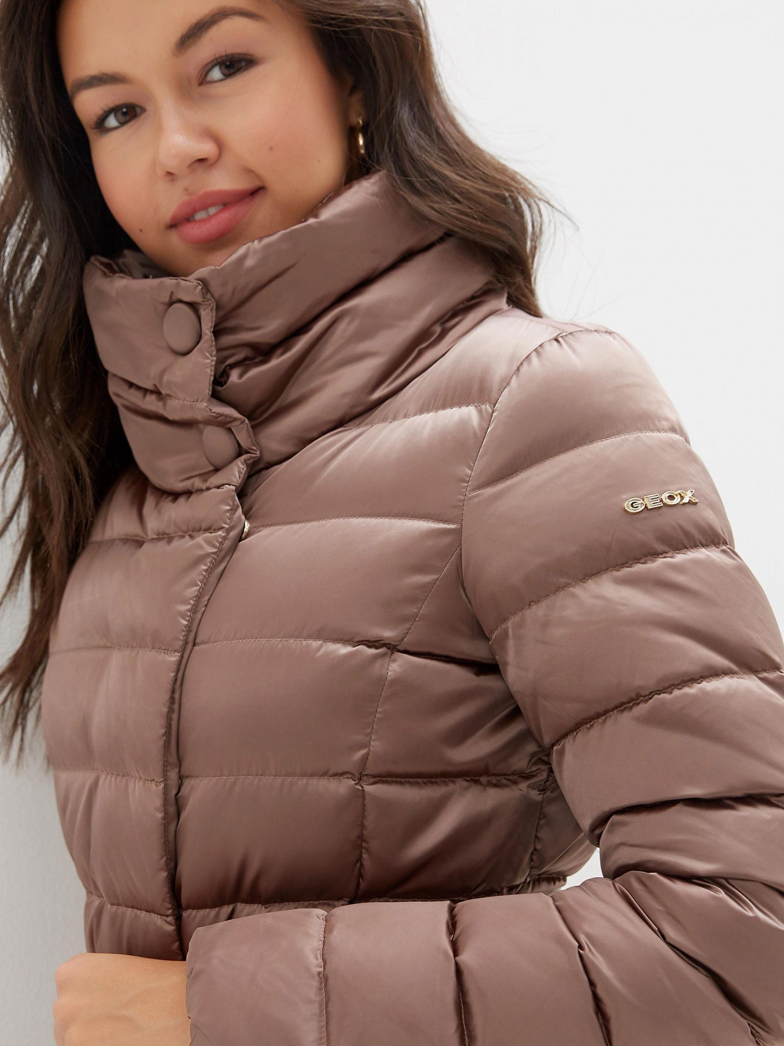 Куртка пуховая женские Geox модель XA6091 отзывы, 2017