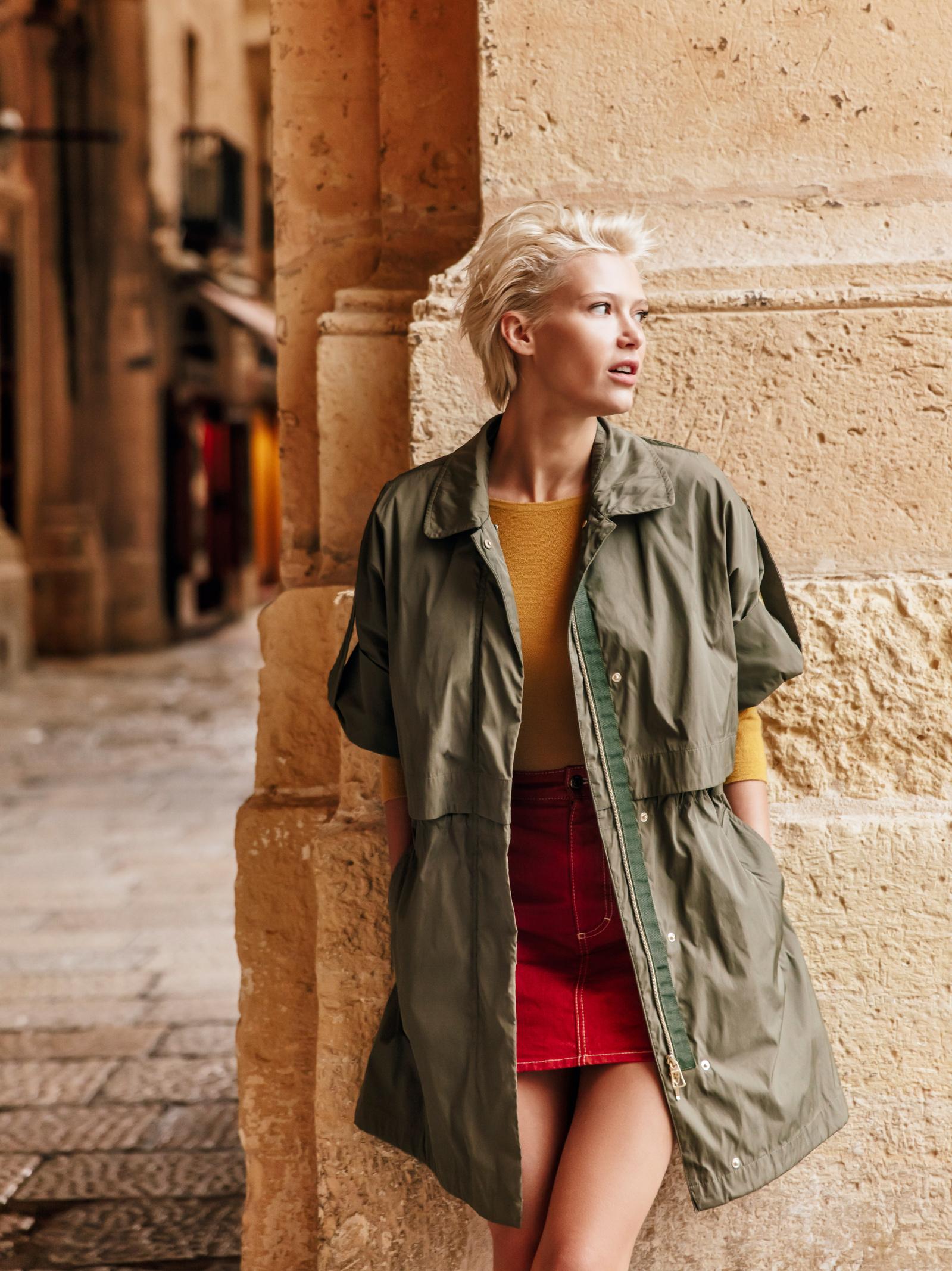 Пальто женские Geox модель W0220K-T2452-F3205 цена, 2017