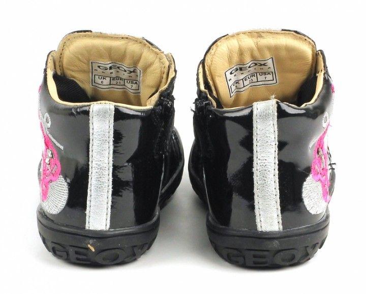 Ботинки для детей Geox XK4001 размерная сетка обуви, 2017