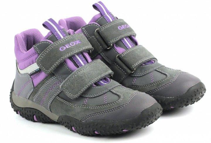Ботинки для детей Geox XK4096 примерка, 2017
