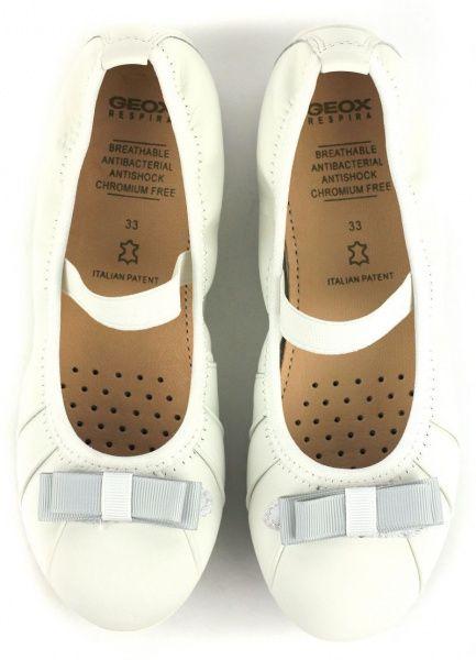 Балетки для детей Geox XK4293 размерная сетка обуви, 2017